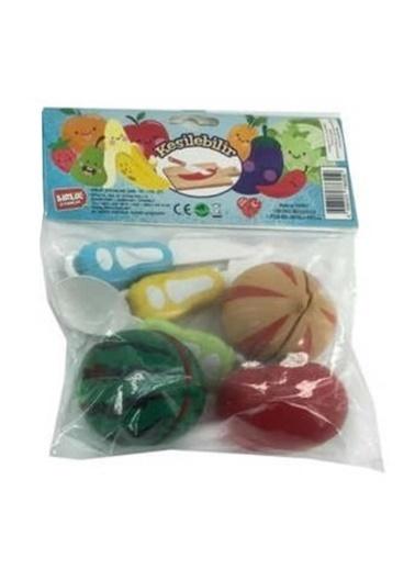 Birlik Oyuncak Birlik Oyuncak Urt007Pvc1Ab Poşetli Renkli Sebze Meyve Kesme Seti Renkli